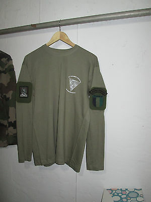 French Foreign Legion Etrangere Barkhane - 2 REP-KHAKI- size M-long sleeve