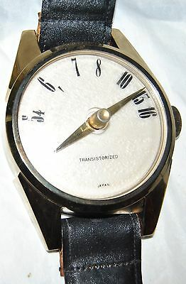 Vintage Transistor Radio Wrist Watch Replica Wall Hanging-Leather Band WORKS