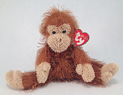 TY The Punkies Collection ZIG-ZAG Brown Chimpanzee Monkey