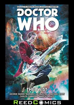 DOCTOR WHO 12th DOCTOR VOLUME 5 THE TWIST HARDCOVER Collects YEAR TWO #6-10
