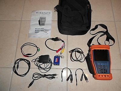 Wirepath Surveillance Multi-Function Cctv Tester With 3.5 In Lcd Display