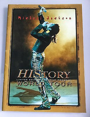 Michael Jackson Limited Edition History Tour Programme - Only 5000 Ever Printed!