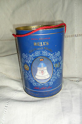 WADE DECANTER BELL'S WHISKY COMMEMORATE 90th BIRTHDAY of The QUEEN MOTHER EMPTY