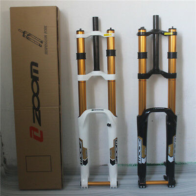 """ZOOM 26 """"er Downhill DH Mountain MTB Bike Bicycle Fork Travel 180mm Axle 20mm"""