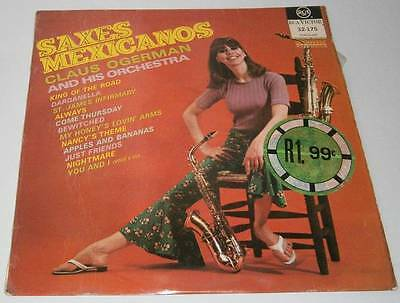 Claus Ogerman and his Orchestra - Saxes Mexicanos - LP