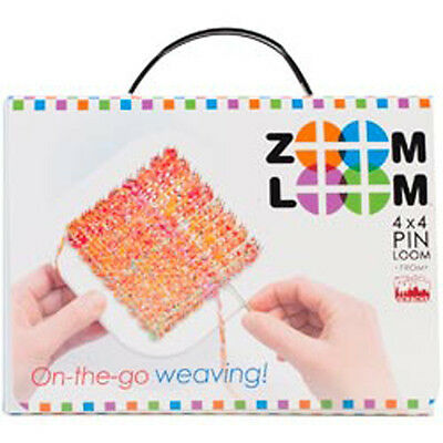 """Zoom Loom 4""""X4"""" Pin Loom From Schacht-"""