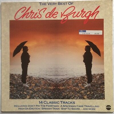 Chris De Burgh - The Very Best of - Telstar Records Vinyl LP STAR 2248 VG+/VG+