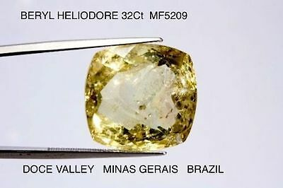 HELIODORE BERYL LARGE 32Ct NATURAL MINED STONE  MF5209