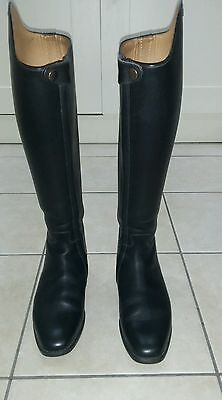 Petrie olympic dressage boots - black, size 6 1/2 (height 46, calf 41)