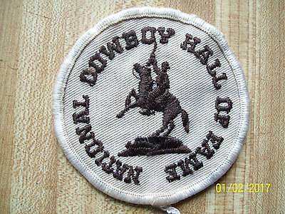 NATIONAL COWBOY HALL OF FAME Souvenir Patch round 3 inches