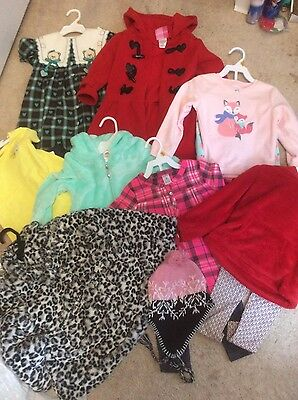 Huge lot of Girls Clothes and Coats Size 3T New