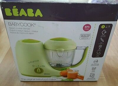 BEABA Babycook Classic 4 in 1 Baby Food Maker Processor Blender Steam Defrost
