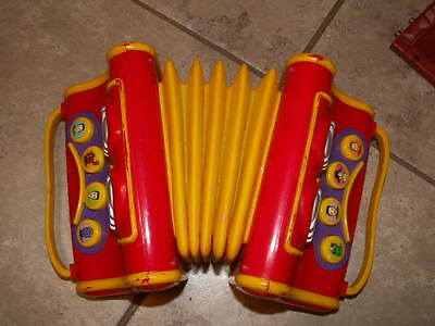 The Wiggles musical talking toy Accordion