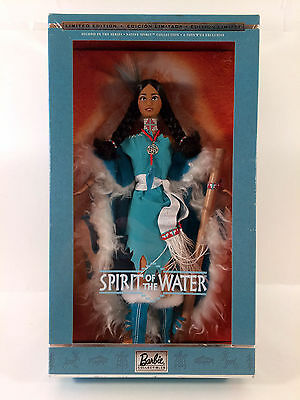 2002 Spirit of the Water Barbie Doll Native Spirit Collection NRFB (B)