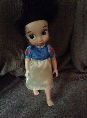 Disney Store Snow White Princess Toddler Doll -
