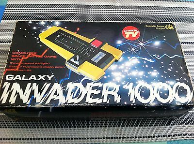 Cgl Galaxy Invader 1000 Retro Space Invaders Electronic Colour Game