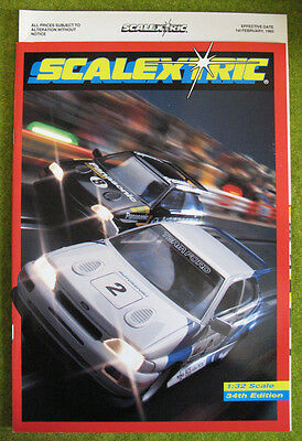 SCALEXTRIC 1993 ~ 34th Edition Catalogue, includes price list ~ NEW