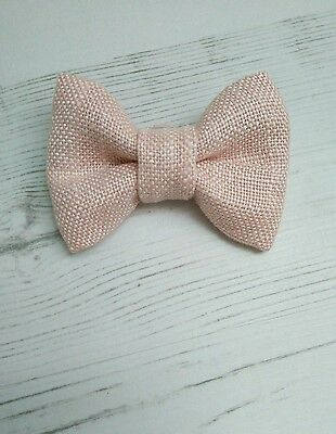 Children's & Baby Boys Dickie Bow Tie in Laura Ashley Light Blush Pink kids