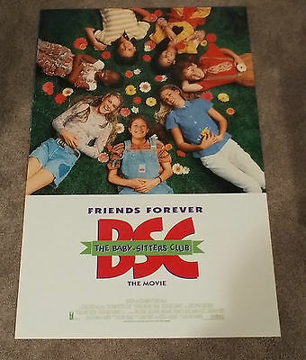 The Babysitters Club (1995) Original One Sheet Movie Poster 27x40 DS
