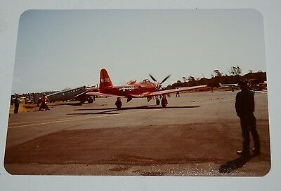 Nice Vintage 1970s USAF US Air Force Airplane Photo Photograph Rare BR 44393