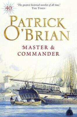 Master and commander by Patrick O'Brian (Paperback)