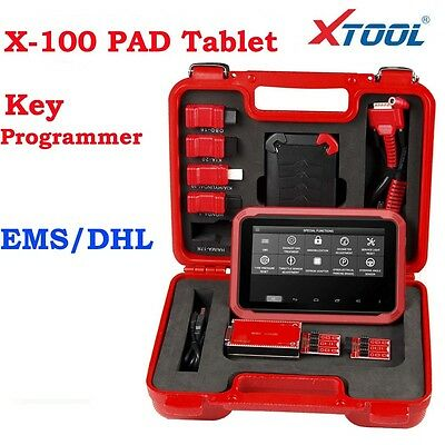 XTOOL X100 PAD Tablet Programmer OBD2 Diagnostic Scan Tool With EEPROM Adapter