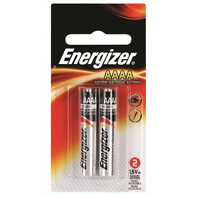 Energizer E96 AAAA Battery - 2 Pack