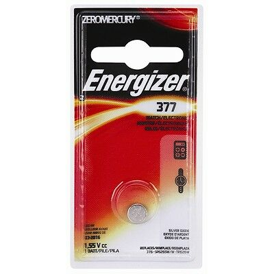 Energizer 377 Silver Battery