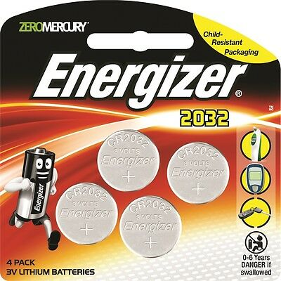 Energizer 2032 Lithium Battery - 4 Pack