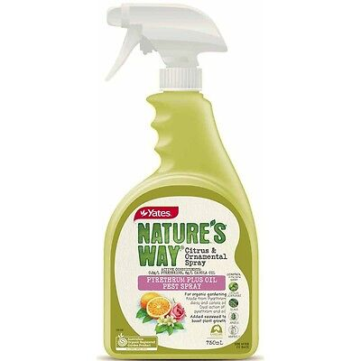 Yates 750ml Nature's Way Citrus And Ornamental Spray