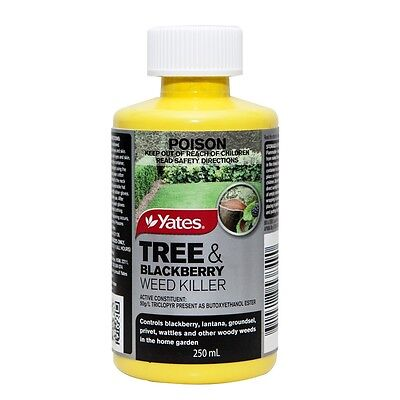 Yates 250ml Tree And Blackberry Weed Killer