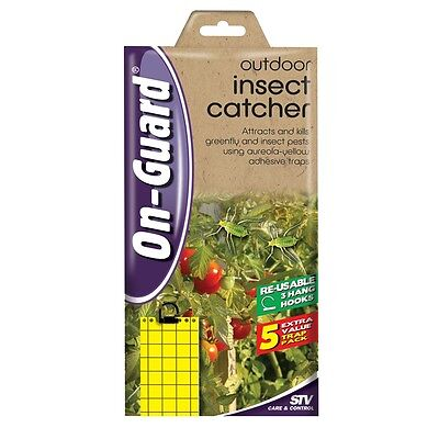 On Guard Outdoor Insect Catcher - 5 Pack