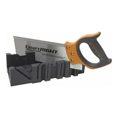 Craftright Mitre Box And Saw Set