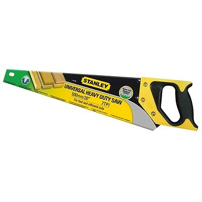 Stanley 500mm 7 TPI Heavy Duty Hand Saw