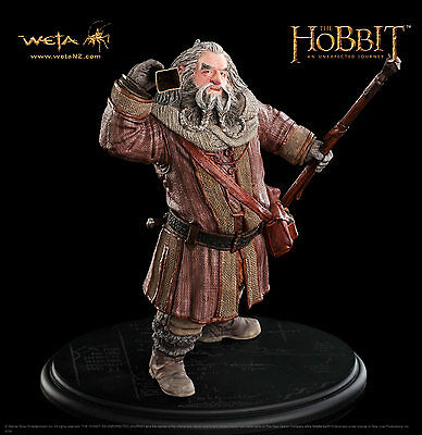 The Hobbit: An Unexpected Journey : Oin The Dwarf Weta Cave