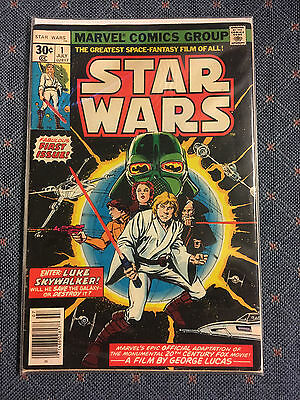 Star Wars #1 30¢ Original Issue by Marvel Comics July 1977 NM