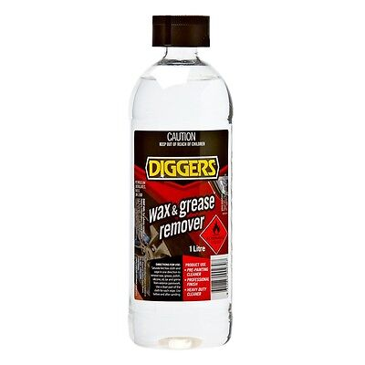 Diggers 1L Wax And Grease Remover