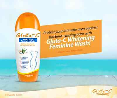 GLUTA-C WHITENING FEMININE VAGINAL WASH 50ml PROTECT YOUR INTIMATE AREA