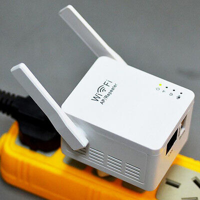 300M Wireless Wifi Repeater Router Range Extender Signal Amplifier Plug