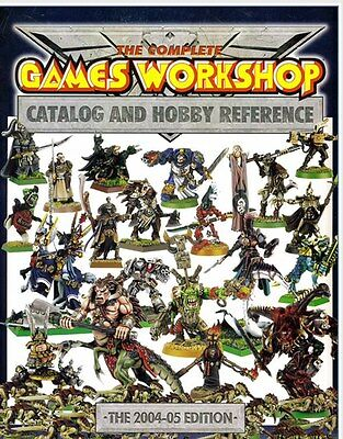 THE MONSTER Complete Catalog and hobby Reference Warhammer Games Workshop 2004