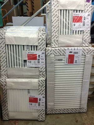 Stelrad 600mm High Central Heating Radiator Double or Single Panel K1 / P+ / K2