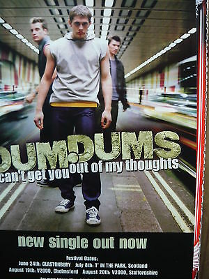 Dum Dums - Magazine Cutting (Full Page Advert) (Ref Md)