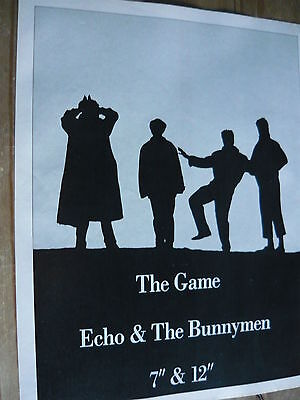 Echo & The Bunnymen - Magazine Cutting (Full Page Advert) (Ref T10)