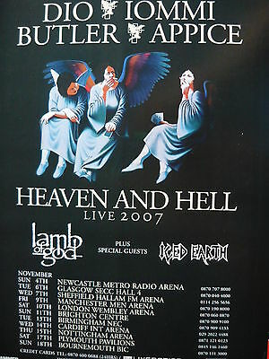 Heaven And Hell - Magazine Cutting (Full Page Advert) (Ref Gc)