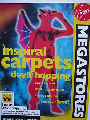 Inspiral Carpets - Magazine Cutting (Full Page Advert) (Ref Mb)