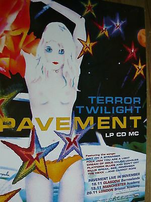 Pavement - Magazine Cutting (Full Page Advert) (Ref T18)