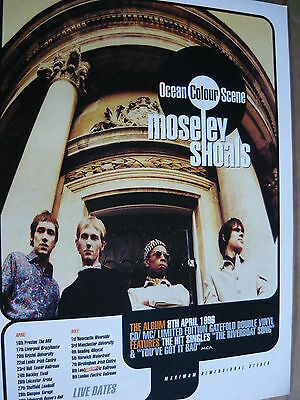 Ocean Colour Scene - Magazine Cutting (Full Page Advert) (Ref Sk)