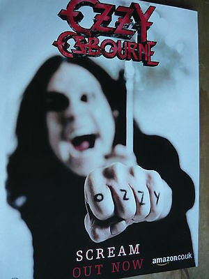 Ozzy Osbourne - Magazine Cutting (Full Page Advert) (Ref Xf1)