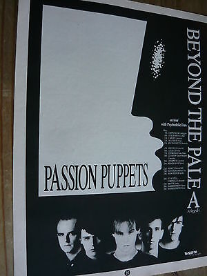 Passion Puppets - Magazine Cutting (Full Page Advert) (Ref T11)
