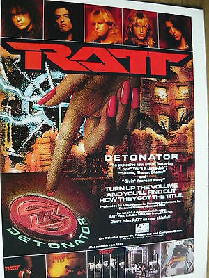 Ratt - Magazine Cutting (Full Page Advert) (Ref Xi)